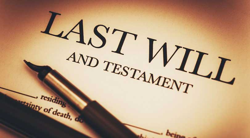 Why do you need to have a last will?